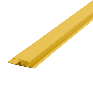 Emenda Rígido de PVC Amarelo 6m Araforros