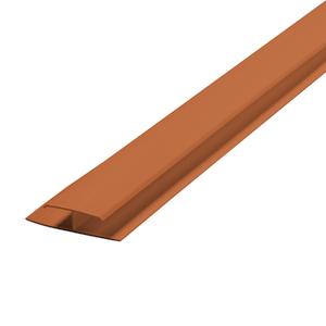 Emenda Rígido de PVC Ocre 6m Araforros