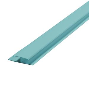 Emenda Rígido de PVC Turquesa 6m Araforros