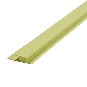 Emenda Rígido de PVC Verde 6m Araforros