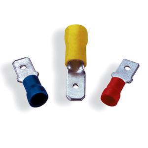 Engate Macho para Fio 1,3-2,6 mm² Cartela com 6 Unidades Bemfixa