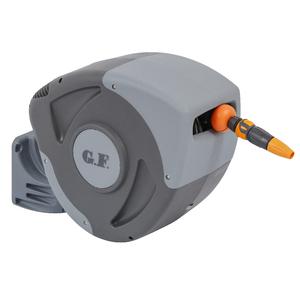 Enrolador de Mangueira Automático com Mangueira 30m Plástico GF