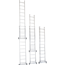 Escada 2x14 Extensiva Alumínio Prado