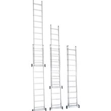 Escada 2x16 Extensiva Alumínio Prado