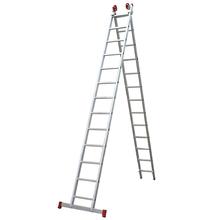 Escada 3 em 1 Extensível 13x2 degraus Botafogo