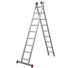 Escada 3 em 1 Extensível 9x2 degraus Botafogo