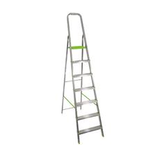 Escada 7 Degraus Alumínio 1,64m 120kg Prata Standers