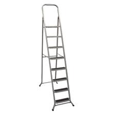 Escada 8 Degraus Aço 2,27m 120kg Metalmix