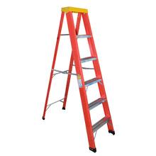 Escada Americana 6 Degraus 1 Posição Alt.180cm Capacidade de Carga 120Kg W Bertolo
