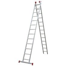 Escada Extensiva de Alumínio 13x2 degrau