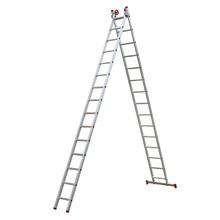 Escada Extensiva de Alumínio 15x2 degrau