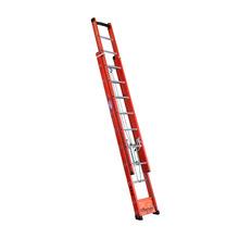 Escada Extensível 14 Degraus Fechada e 23 Aberta 1 Posição Alt.720cm Capacidade de Carga 120Kg W Bertolo