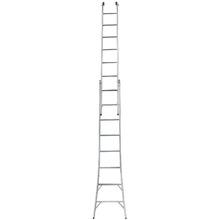 Escada Extensível em Alumínio 4,50m 2x8 16 Degraus Mor