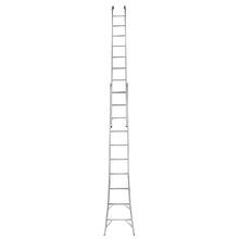 Escada Extensível em Alumínio 5,40m 2x10 20 Degraus Mor