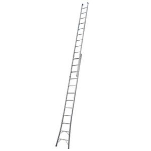 Escada Extensível em Alumínio 6,60m 2x12 24 Degraus Mor