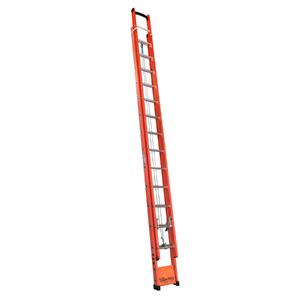 Escada Extensível Vazada Fibra de Vidro 15 Degraus Fechada e 25 Aberta 4,50x7,80m W Bertolo