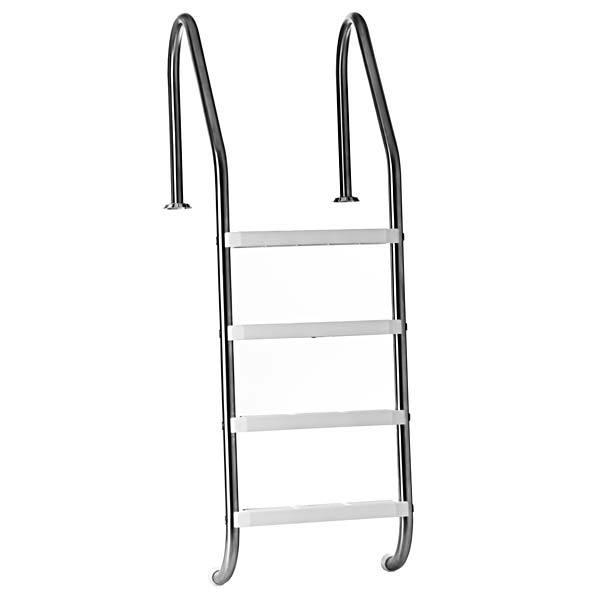 escada inox 4 degraus para piscina jacuzzi leroy merlin. Black Bedroom Furniture Sets. Home Design Ideas