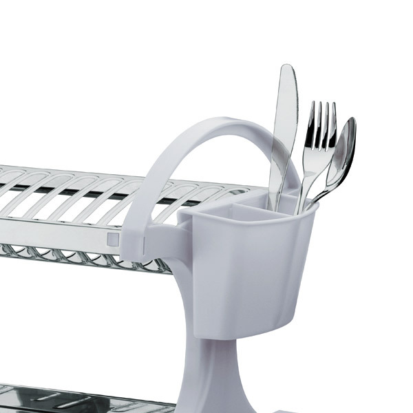 Escorredor de prato sobre pia 16 pratos a o branco suprema for Leroy merlin prato