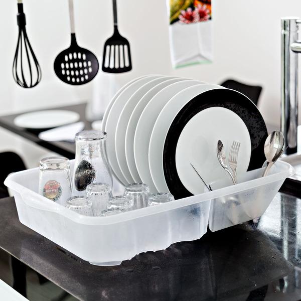 Escorredor de prato sobre pia 13 pratos pl stico branco for Prato a rotoli leroy merlin