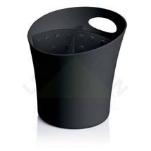 Escorredor de Talher Plástico Preto  Organizar Martiplast