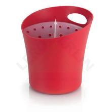 Escorredor de Talher Plástico Vermelho  Organizar Martiplast
