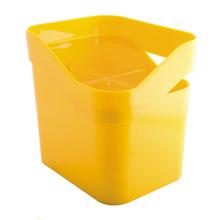 Escorredor de Talher Sobre Pia  Acrílico Amarelo Discovery Martiplast