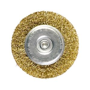 Escova de Aço Circular 100x6mm MTX