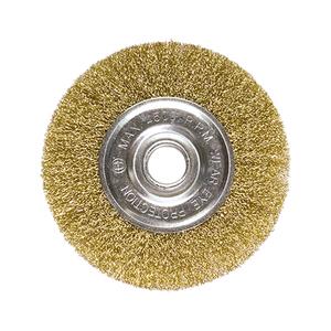 Escova de Aço Circular 175x22mm MTX