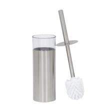 Escova Sanitária Neutral Aço Inox Redonda Prata Loft Sensea