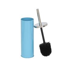 Escova Sanitária Azul em Metal Happy Importado