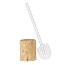 Escova Sanitária Bege e Branca em Madeira Scandi Sensea