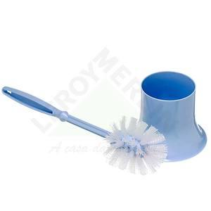 Escova Sanitária com suporte Azul Solex Empla
