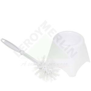 Escova Sanitária com suporte Branca Toy Empla