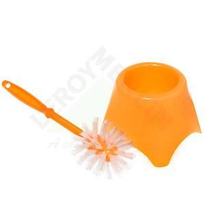 Escova Sanitária com suporte Laranja Toy Empla