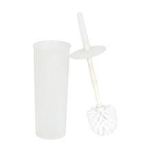 Escova Sanitária Plastico Redonda  Branco Easy Sensea