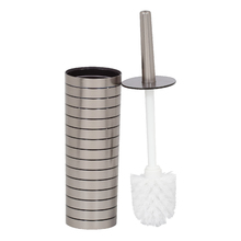 Escova Sanitária Plástico Redonda Prata Street Sensea