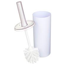 Escova Sanitária sem Suporte Plástico Cilíndrico Banhar Branca