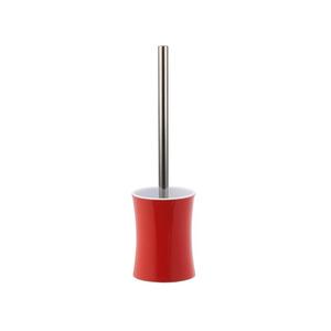 Escova Sanitária Vermelha em Metal Stand Up Importada