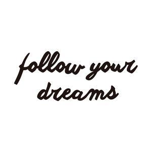 Escultura de Madeira Follow Your Dreams 19,00x55,30cm