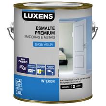 Esmalte a Base de Água Acetinado Marfim 3,6L Luxens