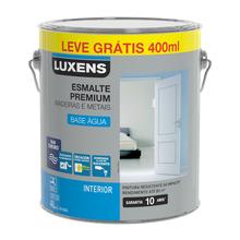 Esmalte Base Água Acetinado Branco 4L Luxens