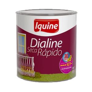 Esmalte Dialine Secagem Rápida Premium Brilhante Branco Neve 900ml