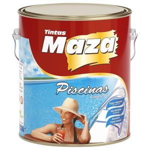 Esmalte PU para Piscina 4,5L Maza