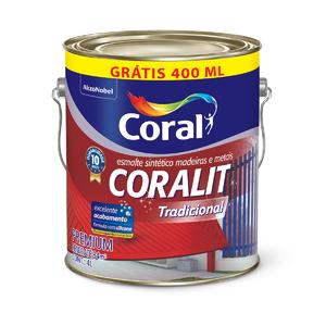 Esmalte Sintético AB 3,6L + 400ml GRÁTIS Coral