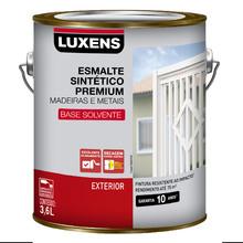 Esmalte Sintético Acetinado Azul Del Rey 3,6L Luxens