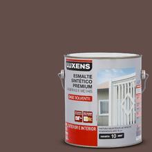 Esmalte Sintético Acetinado Marrom 3,6L Luxens