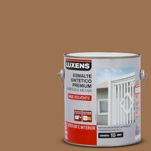 Esmalte Sintético Brilhante Marrom Conhaque 3,6L Luxens