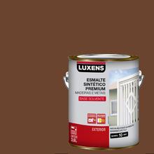Esmalte Sintético Brilhante Marrom Tabaco 3,6L Luxens