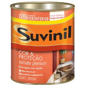 Esmalte Sintético Cor e Proteção Brilhante Marrom Conhaque 900ml