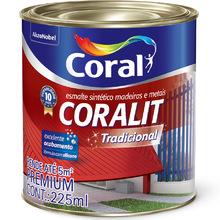 Esmalte Sintético Coralit Tradicional Brilhante Azul Del Rey 225ml